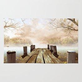 Wooden Pier Rug