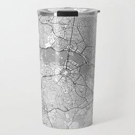 Canberra Map Line Travel Mug