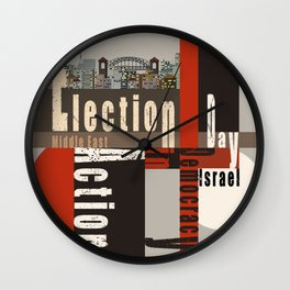 Eection Day  1 Wall Clock