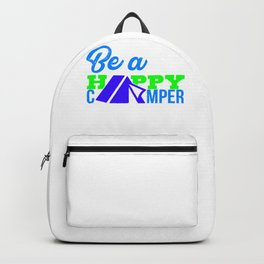 Be a happy camper 3 Backpack