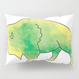 Roaming Bison Pillow Sham