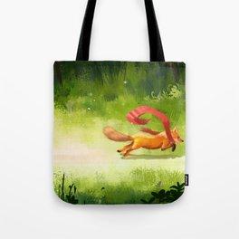 Lost Scarf Tote Bag