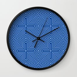 Op Art 19 Wall Clock