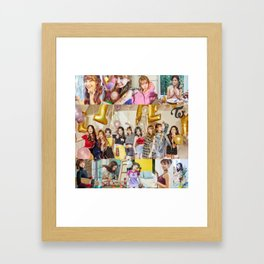 Twice Knock Knock Framed Art Print