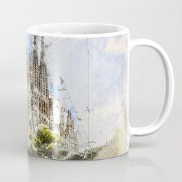 Sagrada Familia, Barcelona Spain Coffee Mug