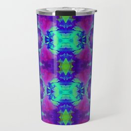 Indigo Butterfly Travel Mug