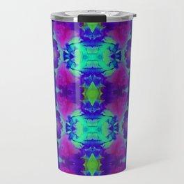 Indigo Butterfly Travel Mug
