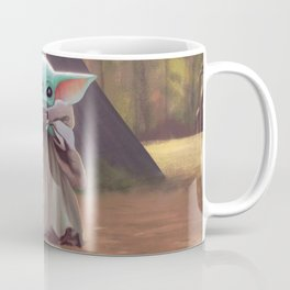 """The Child Sips"" by Dylan Bonner Coffee Mug"