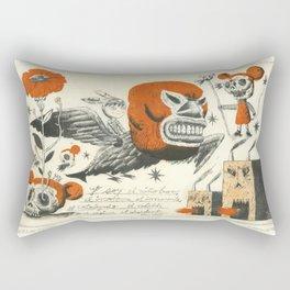 Niño Burro Rectangular Pillow