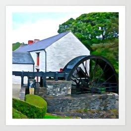 The Auld Mill House Art Print