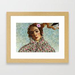 Persian mix: Venus Closeup Framed Art Print