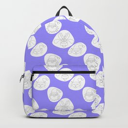Spotted Christmas faces Backpack