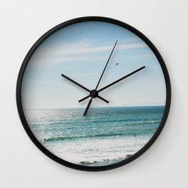 Malibu Dreaming, No. 2 Wall Clock