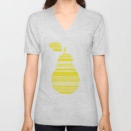 Yellow Pear Unisex V-Neck