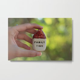 Family Time House Metal Print