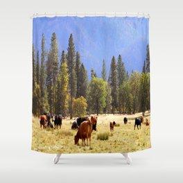 Fall Day in Hayfork, California.... Shower Curtain