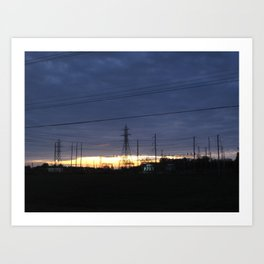 Electric Generation Art Print