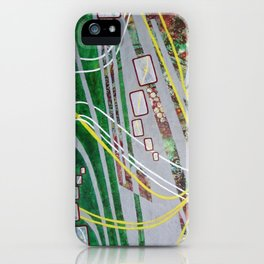 Highway Hypnosis iPhone Case