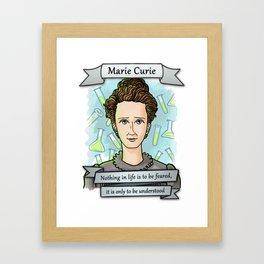 Marie Curie Framed Art Print