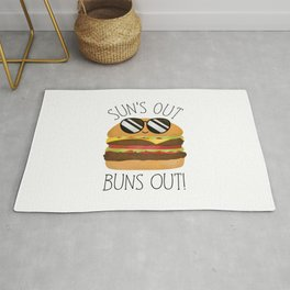 Sun's Out Buns Out! Rug