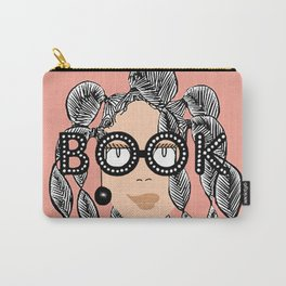 Book smart with braids Carry-All Pouch