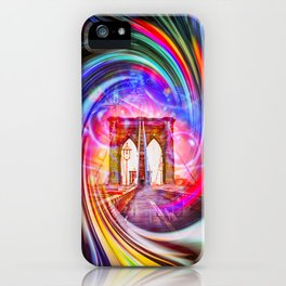 New York Brooklyn Bridge 2 iPhone Case