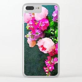 aprilshowers-3 Clear iPhone Case