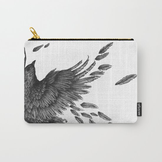 Raven Unravelled Carry-All Pouch