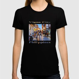 Rush Hour in Vigan City (poster edition) T-shirt