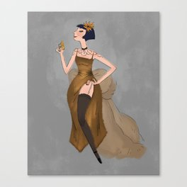 Miss Fisher Canvas Print