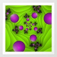 fractal Art Prints featuring Fractal by gabiw Art