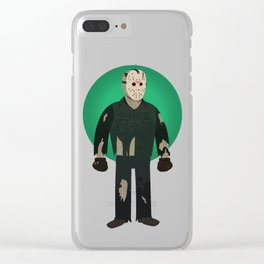 Jason Voorhees Friday the 13th Part 8 Clear iPhone Case