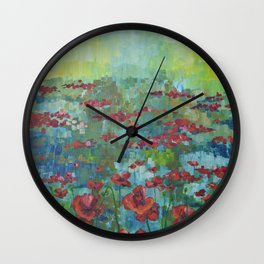 Lest We Forget Wall Clock