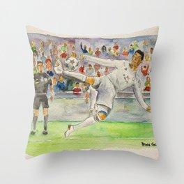Cristiano Ronaldo — Professional Footballer Throw Pillow