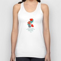 daria Tank Tops featuring there is a field... I'll meet you there. by Deepti Munshaw