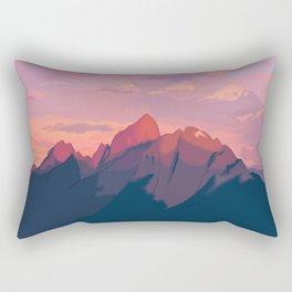 Sunset Hues Rectangular Pillow