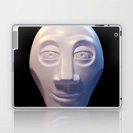 Alien-human hybrid head Laptop & iPad Skin