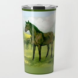 Sound Reason (CAN) - Thoroughbred Stallion Travel Mug