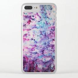 Colour pigment Clear iPhone Case