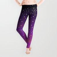 cosmic Leggings featuring Cosmic Lover by Medusa Dollmaker