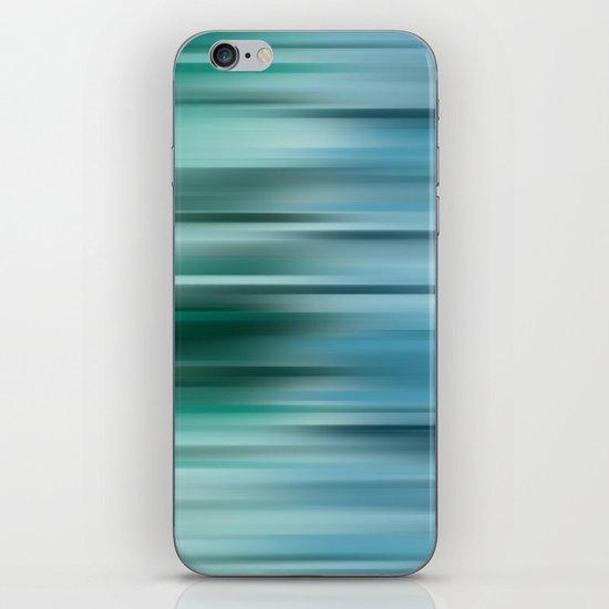 Misty Blue  iPhone & iPod Skin