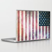 patriotic Laptop & iPad Skins featuring PATRIOTIC by alfboc
