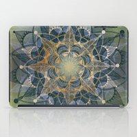 chakra iPad Cases featuring Heart Chakra by brenda erickson