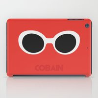 kurt cobain iPad Cases featuring Cobain, Kurt by Balansaaaaaaaa