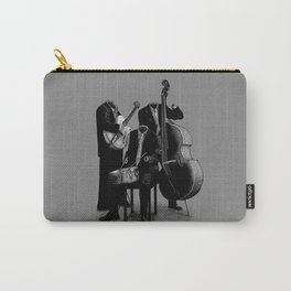The Invisibles (On Grey) Carry-All Pouch