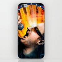 u2 iPhone & iPod Skins featuring Bono from U2 by Storm Media