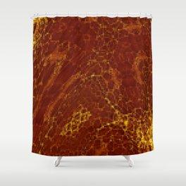Hot pixels Shower Curtain