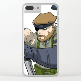 Naked Snake Clear iPhone Case