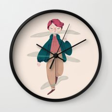 What About Barb? Wall Clock