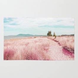 Coastal trail - blush Rug